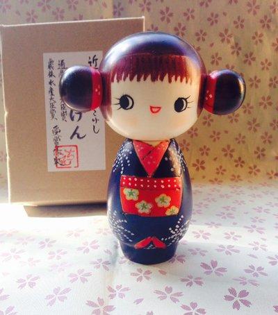 Bambola giapponese - Kokeshi Buon Auspicio