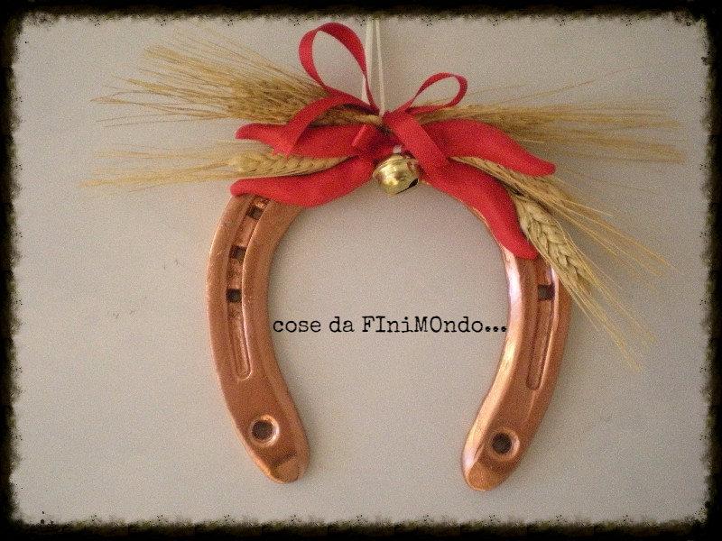 Ferro di cavallo decorato in fimo per la casa e per te decorare su misshobby - Divano a ferro di cavallo ...