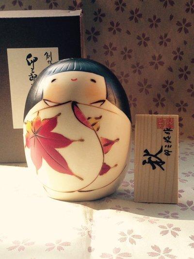Bambola giapponese - Kokeshi Aki