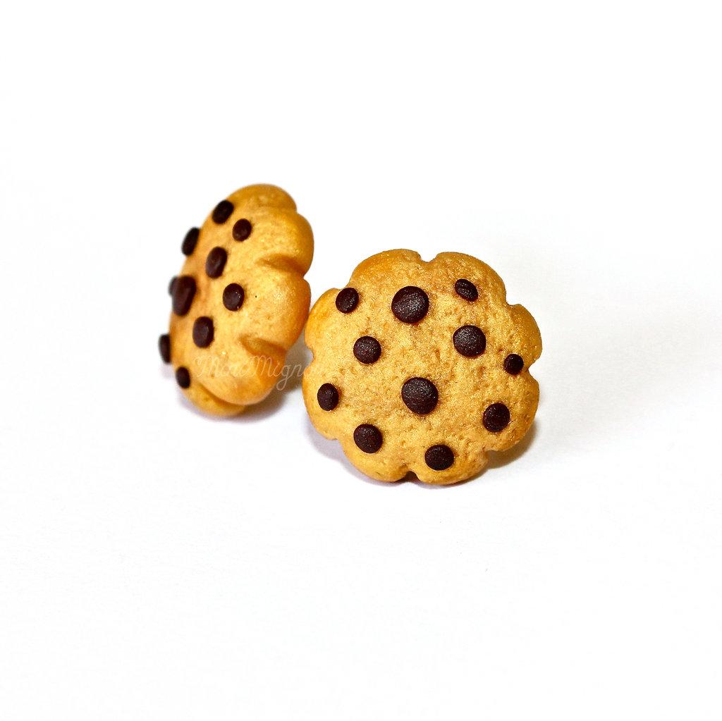 "Orecchini lobo ""Cookies"""