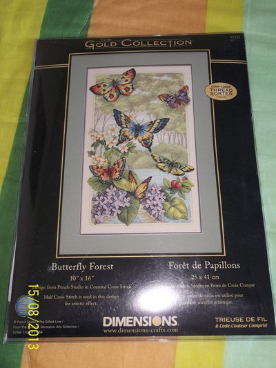 KIT DIMENSIONS - BUTTERFLY FOREST