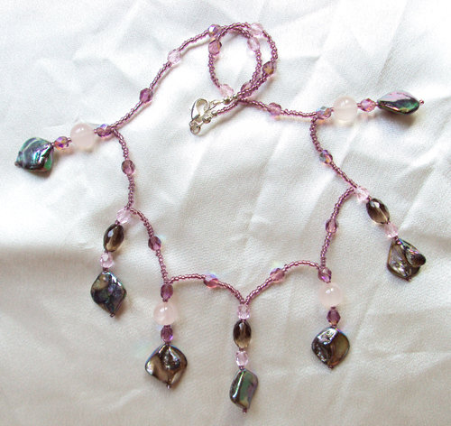 "Collana madreperla ""Pearl drops"""