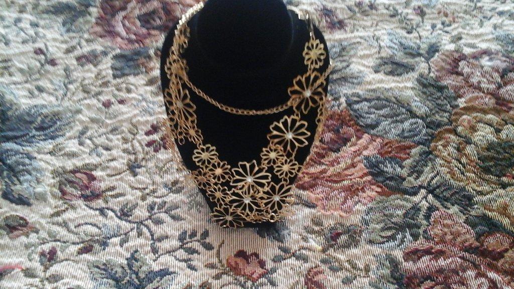 Collier artigianale fiori