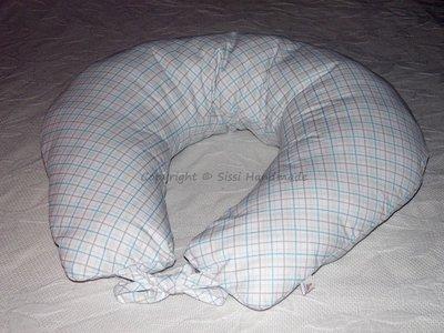 Cuscino allattamento in piquet di cotone