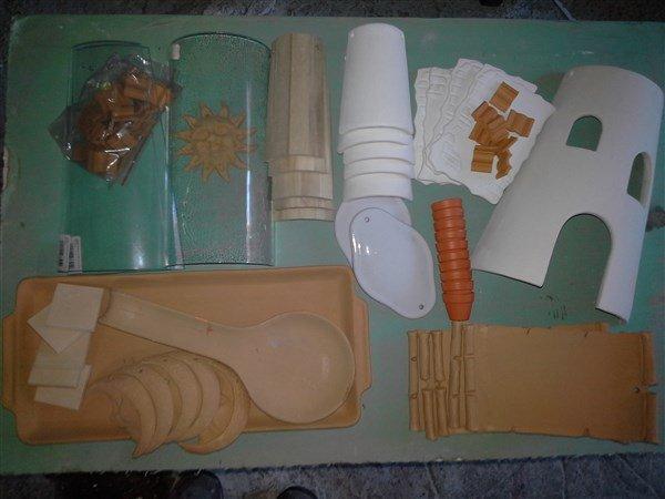Oggetti in cotto da decorare materiali per il fai da te di di su misshobby - Oggetti in legno da decorare ...