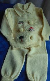 Completino giallo per neonato