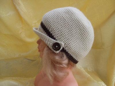cappello bimbo bimba lana uncinetto