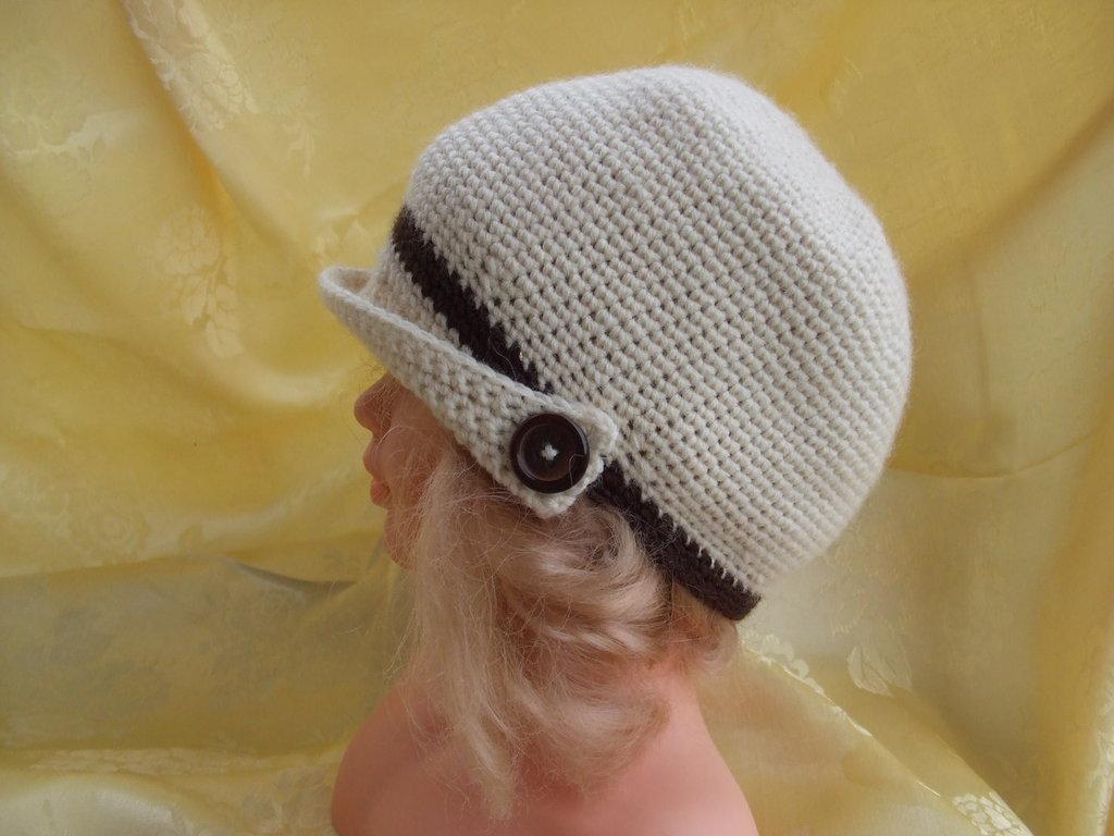 cappello bimbo bimba lana uncinetto - Bambini - Abbigliamento - di ... c65dbf035abd