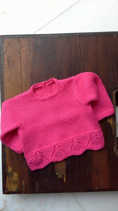 Golfino in pura lana per femminuccia