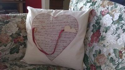 Federa per cuscino con cuore