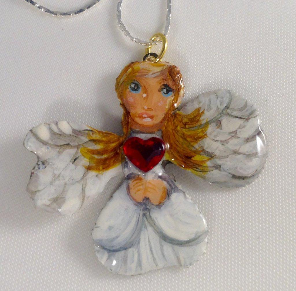 Amuleto con angelo