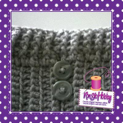 Scaldamuscoli in lana bimba