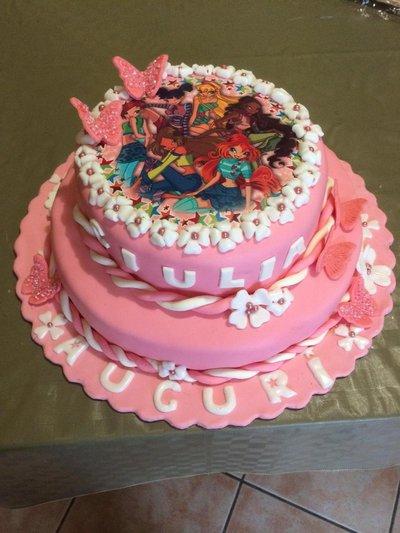 Dummy cake(torta da esposizione)compleanno