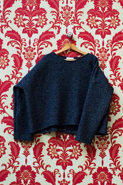 Maglione Oversize Blu