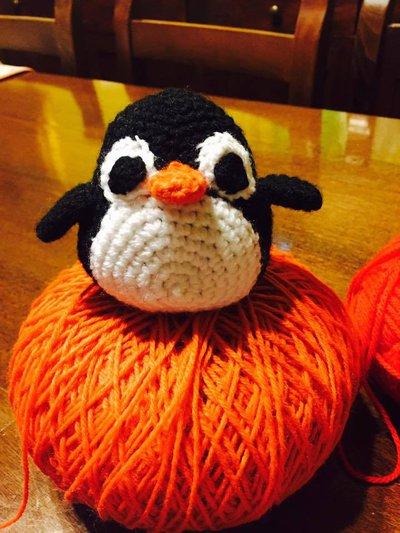 pinguino tecnica amigurumi