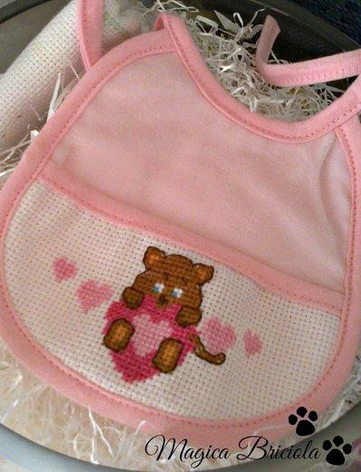 Bavaglino per neonato