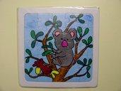 puzzle dipinto koala