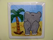puzzle dipinto elefante