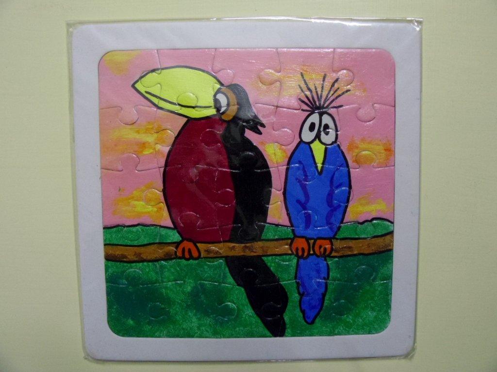 puzzle dipinto tucano