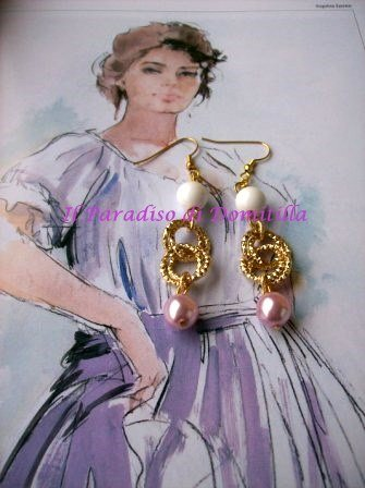 Orecchini Minerva/ earrings Minerva