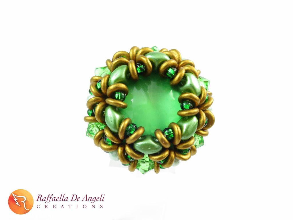 Anello cristallo superduo Dalia 06