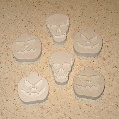 Gessetti zucche halloween e teschi