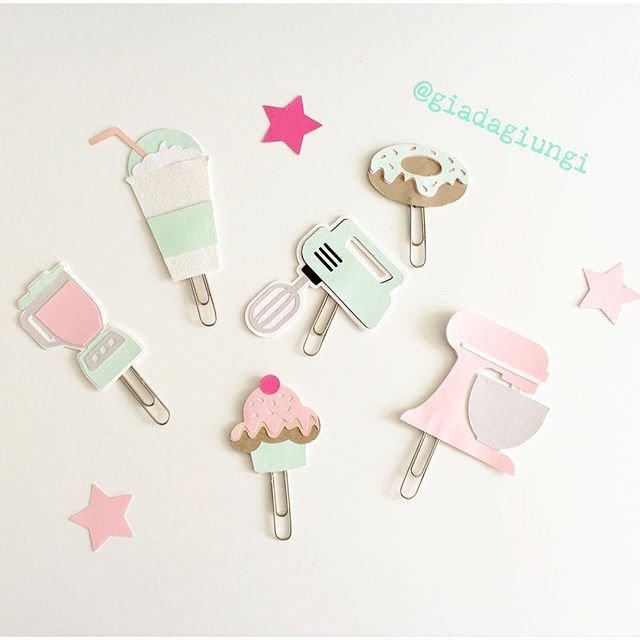 Paperpins lifeplanner-  Cupcake