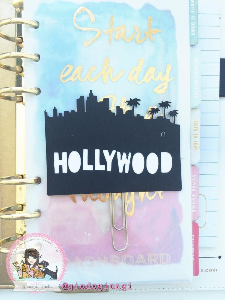 Paperpins lifeplanner-  Hollywood