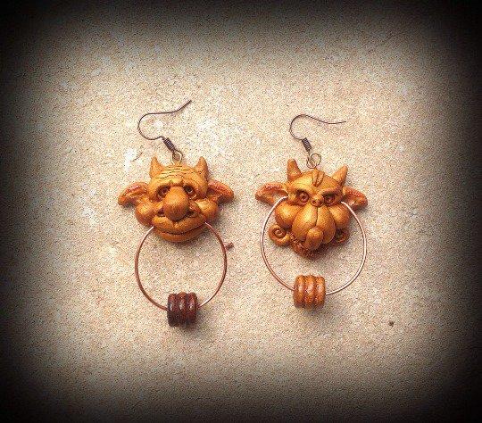 Orecchini labyrinth Earrings Knockers