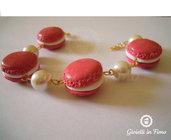 bracciale macarons rosa antico