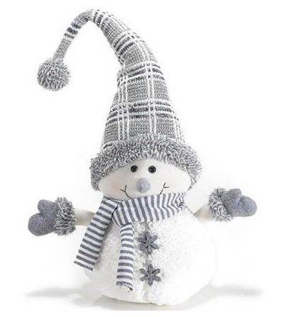 pupazzo di neve fermaporta