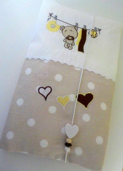 Porta pannolini personalizzato bambini accessori beb - Porta pannolini ...