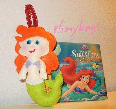 La principessa Sirenetta da appendere fatto a mano♥