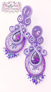 """Orecchini """"Purple Rain"""""""