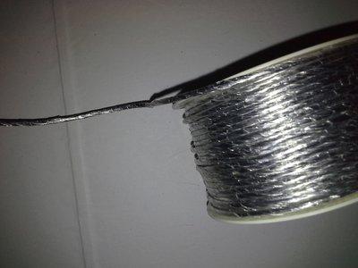 Cordoncino di carta argento