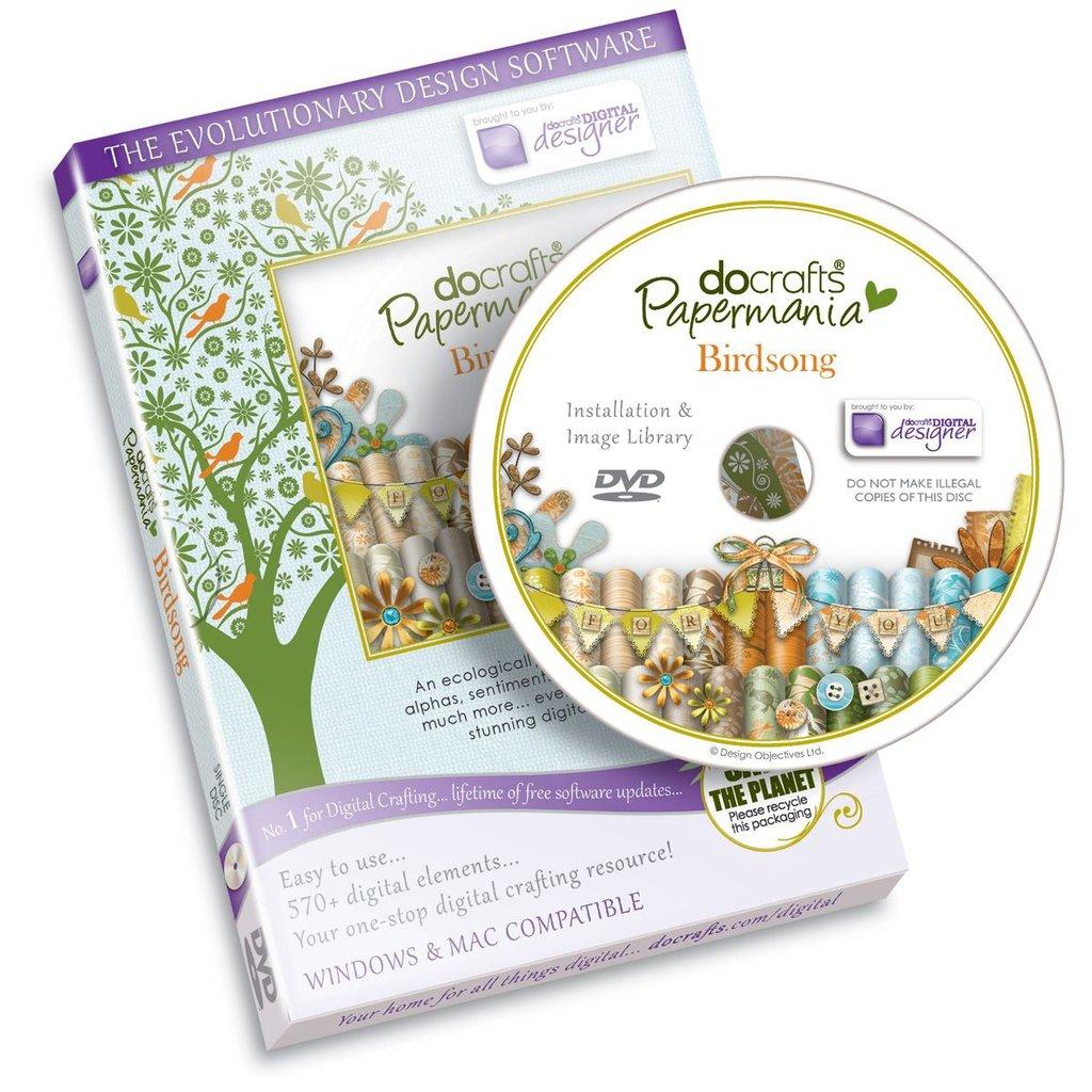 Papermania - Birdsong (Single DVD-ROM)