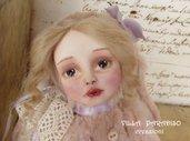 Teddy Doll, OOAK, Charlotte vestita da coniglietta