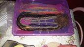 Sciarpe collane in vari colorg