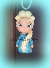 Elsa Frozen collana kawaii - o altre principesse a richiesta, completamente fatto a mano