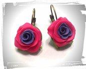 orecchini rosa - scegli i tuoi colori