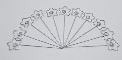 Asticelle segnaposto a forma di stella