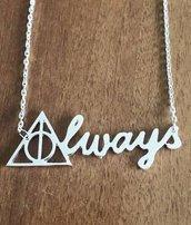 Collana Doni della Morte Harry Potter Always