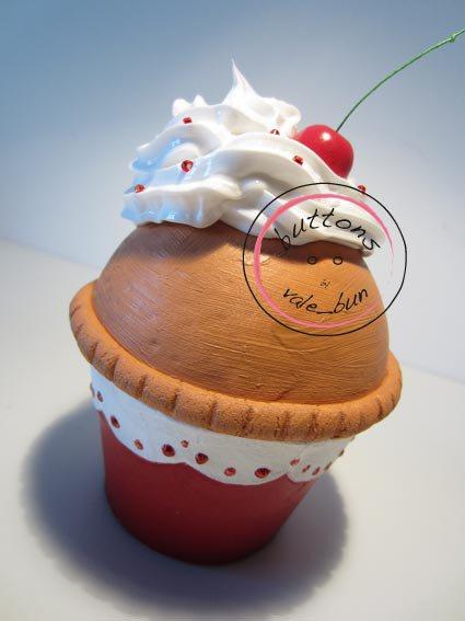 SWEET BOX - SCATOLA CUPCAKES ROSSA