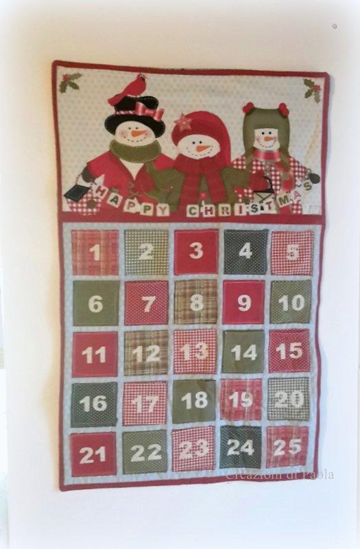 Calendario Avvento quilt **in saldo**