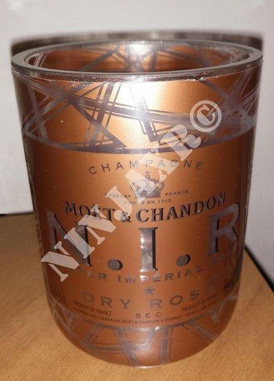 Vaso NIR Nectar Imperial Rose' Champagne Moet & Candon
