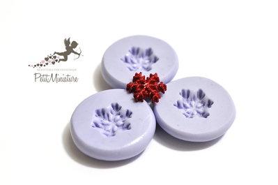 Stampo Silicone Fiocco Di Neve 12mm -Stampo Natale-Stampo Gioielli charm Kawaii ST243