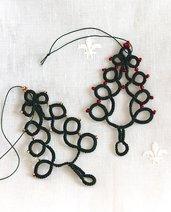 Decorazione natalizia per albero.