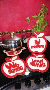 Sotto pentola Love Mamma 18 x 20 cm