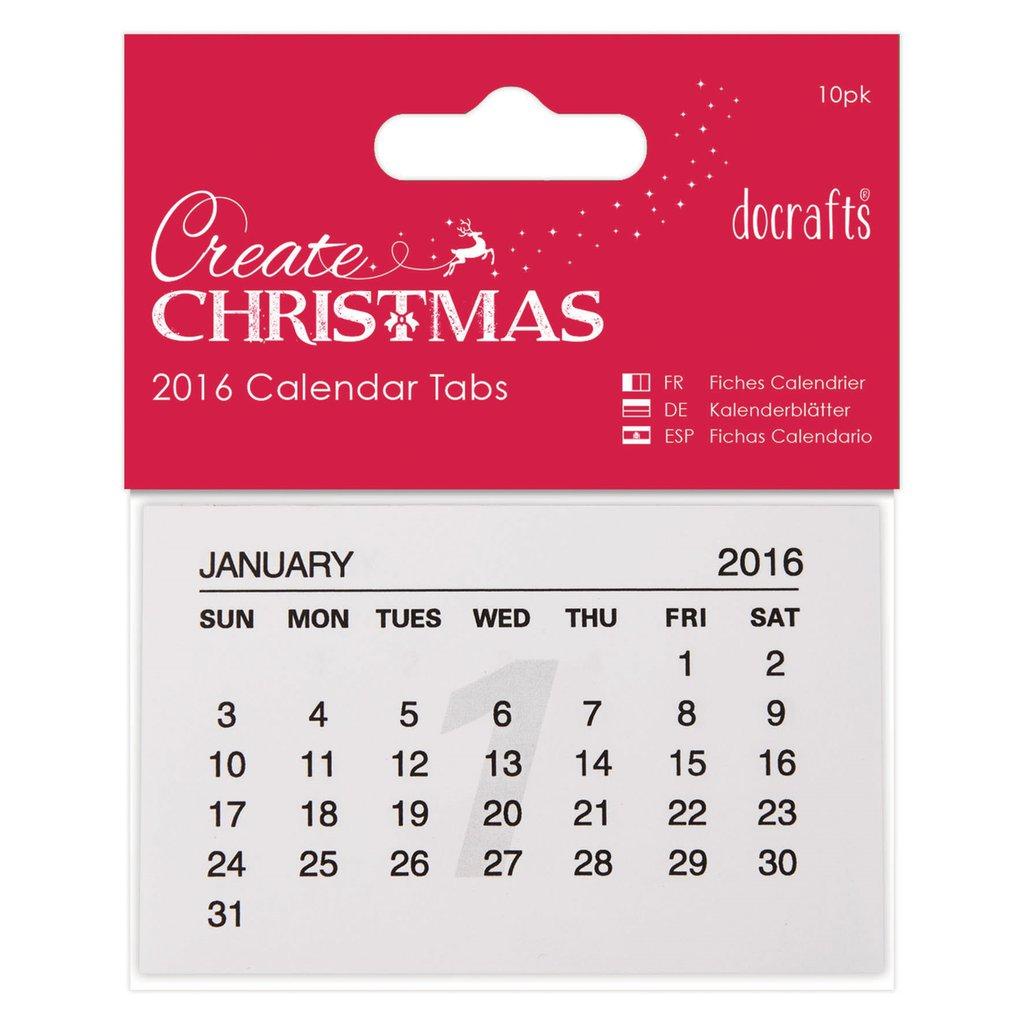 Calendario 2016 - 10 pezzi