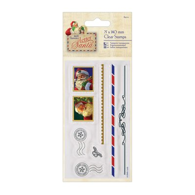 Clear Stamp - Letter to Santa